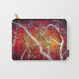 Red winter night Carry-All Pouch