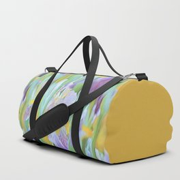An Iris Abstract Duffle Bag