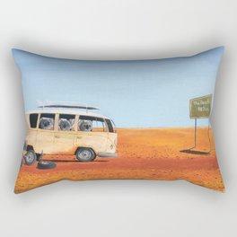 Going to the Beach Rectangular Pillow