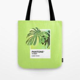 PANTONE SERIES – LEAFY GREEN Tote Bag