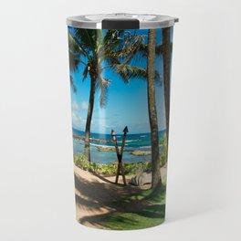 Kuau Beach Paia Maui North Shore Hawaii Travel Mug