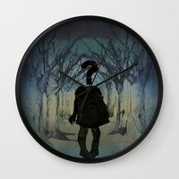 Into the wild. Question series  Wall Clock