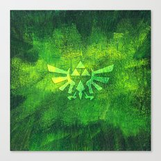 Legend Of Zelda Triforce Canvas Print