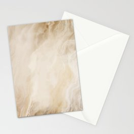 Brown Turquiose Marble texture Stationery Cards