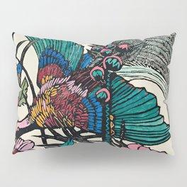 """Bird of Paradise"" by Margaret Preston Pillow Sham"