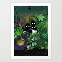 People in the Forest Art Print