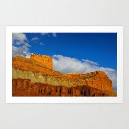 The Castle - Capitol Reef National Park, Utah Art Print