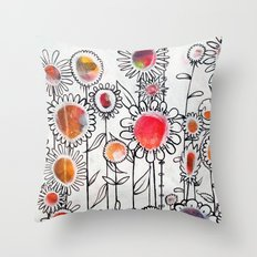 Keep Growing Throw Pillow