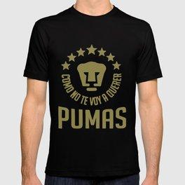 Pumas Unam Mexico Camiseta Jersey Futbol Soccer Universidad Liga Mx Mexico T-Shirts T-shirt