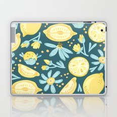 Lemon Pattern Green Laptop & iPad Skin