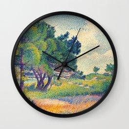 """Henri-Edmond Cross """"La petite maison à Saint-Clair"""" Wall Clock"""