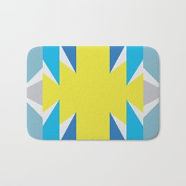 SUN_Yellow Star_Summer - Style Me Stripes Bath Mat