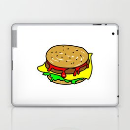 Cheeseburger Doodle Laptop & iPad Skin