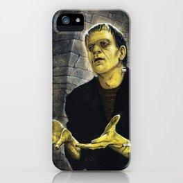 Frankenstein: LIGHT iPhone Case