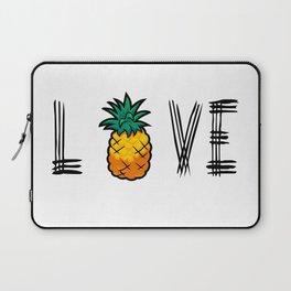 Love Pineapple Laptop Sleeve