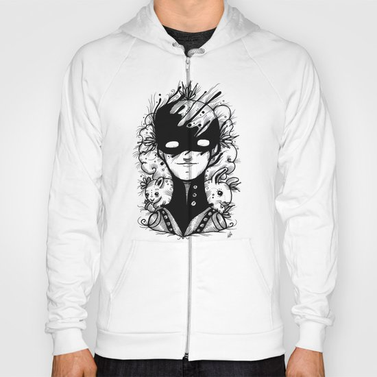 Guardians of the Woods (Black & White Version) Hoody