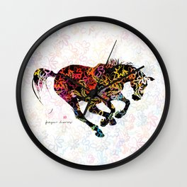 Horse (Spring is coming) Wall Clock