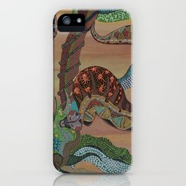 """Serpenti"" by ICA PAVON iPhone Case"