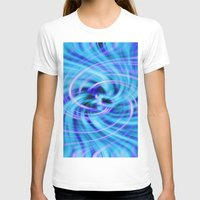 pivot T-shirts featuring Blue twirl by AvHeertum