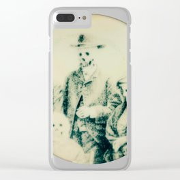 Calling All Skeletons No.5 Clear iPhone Case