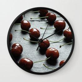Food knolling Wall Clock