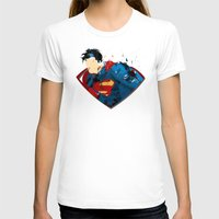 man of steel T-shirts featuring Man of Steel by ALmighty1080