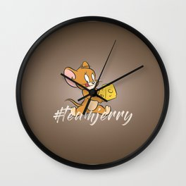 Team Jerry Wall Clock