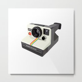 One-Step Instant Camera Metal Print