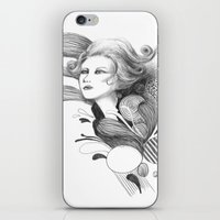beethoven iPhone & iPod Skins featuring Beethoven by Wendy Ding: Illustration