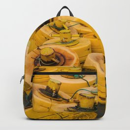 Yellow gathering Backpack
