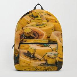 Yellow gathering Backpack