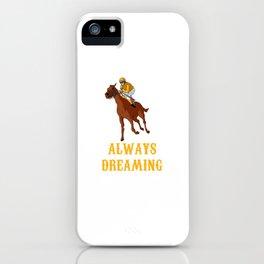 Horse Racing Horse Rider Horseback Horseback iPhone Case