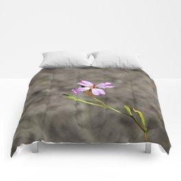 Pink in Idaho Comforters