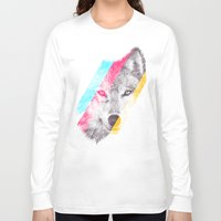 eric fan Long Sleeve T-shirts featuring Wild 2 - by Eric Fan and Garima Dhawan by Eric Fan