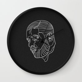 Drake (black) Wall Clock
