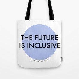The Future Is Inclusive - Blue Tote Bag