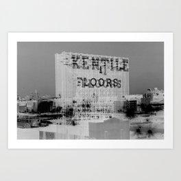 Kentile Floors BKLYN Art Print