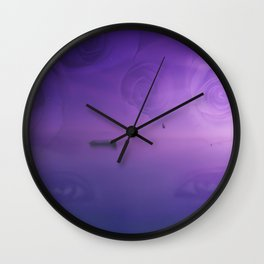 Travel Through Your Eyes Wall Clock