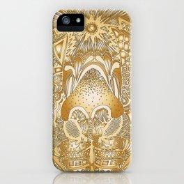 Beige Wanaku iPhone Case