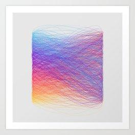 Hue Remix Rainbow Art Print