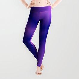 Pastel lines of violet lightning with a vintage gap. Leggings