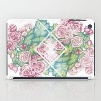 leah flores iPad Cases featuring Flores by Barlena