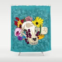 Feline Flourish Shower Curtain