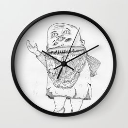 BOOGER KING. Wall Clock