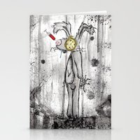 foo fighters Stationery Cards featuring Mr. Bunny Foo Foo by Ashleigh Ryan