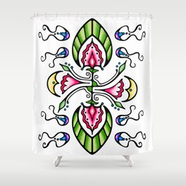 Moon Song 1 Shower Curtain