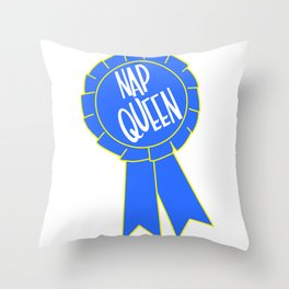The Queen Throw Pillow