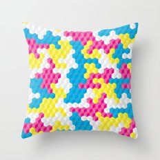 CUBOUFLAGE CANDY Throw Pillow