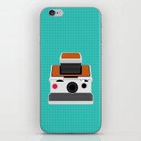 Polaroid SX-70 Land Camera iPhone & iPod Skin