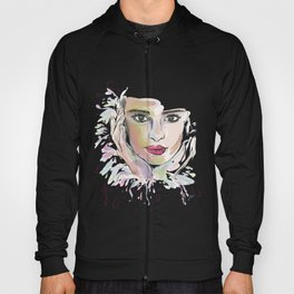 Beauty (part 1)- Watercolor series Hoody